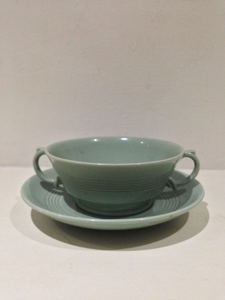 Beryl woods ware soup cup 1930s