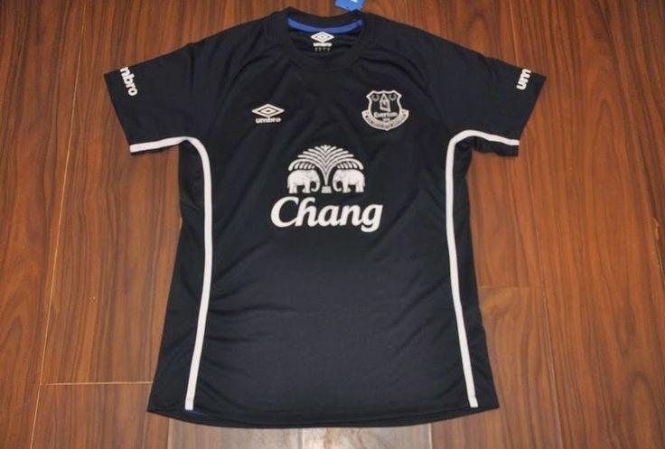 Jual Jersey Everton Away Musim 2014/2015 Terbaru Murah - Hallo penggemar klub everton, kali ini kami mau menawarkan jersey away everton terbaru dengan harga murah dan terjangkau.Kualitas dari jersey ini adalah Grade Original 99% mirip dengan je