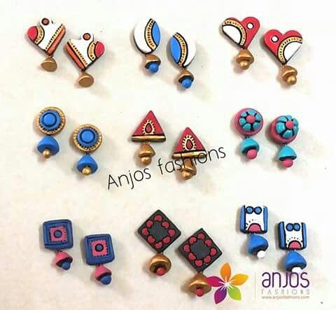 Teracotta earrings