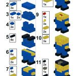 Build your own LEGO Minion - Instructions Part 1