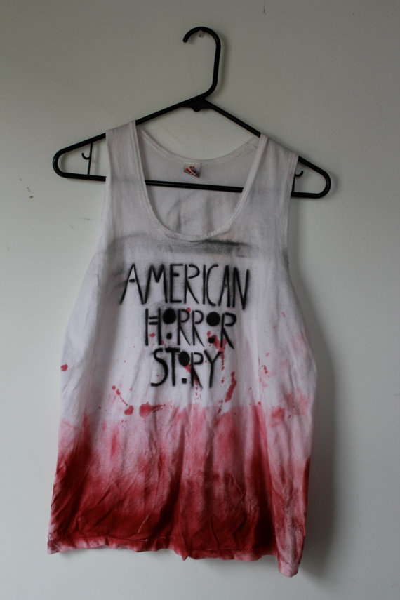 American Horror Story Dip Dyed Tank Top - need this
