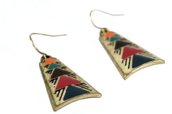 Boucles d'oreilles Équateur