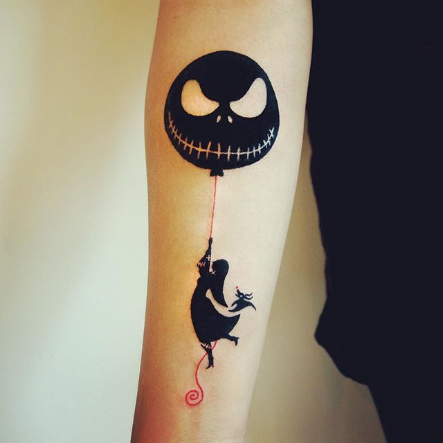 27 hauntingly beautiful Tim Burton tattoos