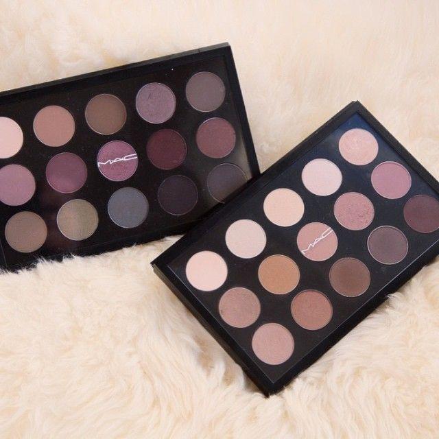 MAC eyeshadow pro palettes