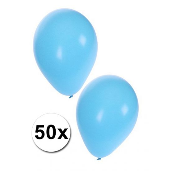 50 stuks baby blauwe ballonnen  50 stuks lichtblauwe ballonnen. Zakje met 50 lichtblauwe babyshower of geboorte ballonnen. De ballonnen hebben een formaat van 27 cm wanneer deze opgeblazen zijn.  EUR 5.00  Meer informatie