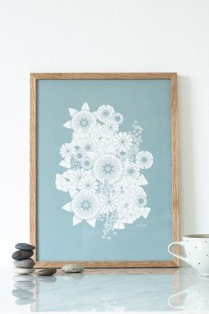 Poster 30 x 40 cm, printed on 100% recycled paper // Plakat 30 x 40 cm, trykket i offset på 100% resirkulert papir