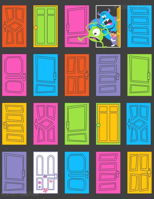 monsters inc door - Google Search