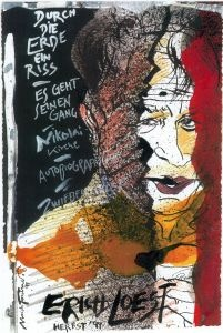 He is one of the importance artists of New Leipzig School because he founded it before some one has known Neo Rauch! Uli Forchner Here this is a picture of Poet Erich Loest