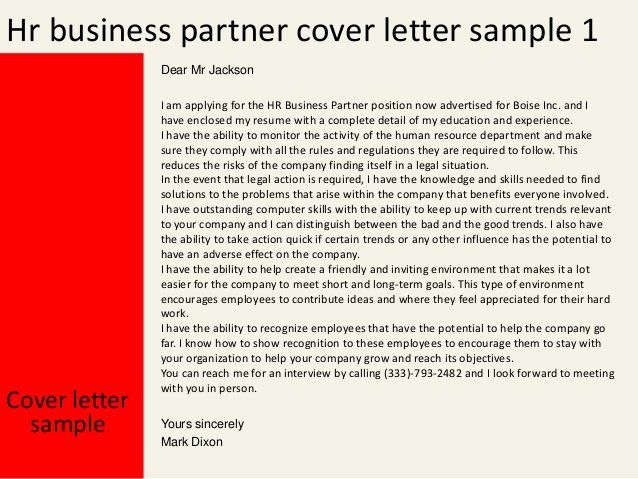 Letter To Hr Sample from i.pinimg.com