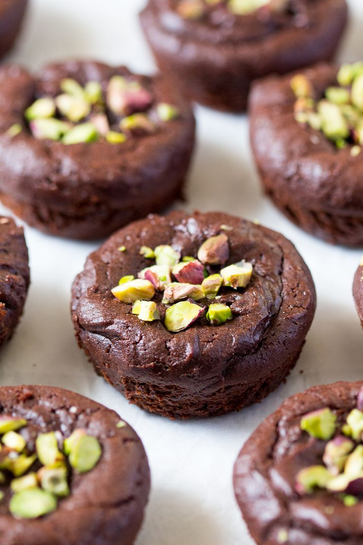 fudgy vegan brownies baked