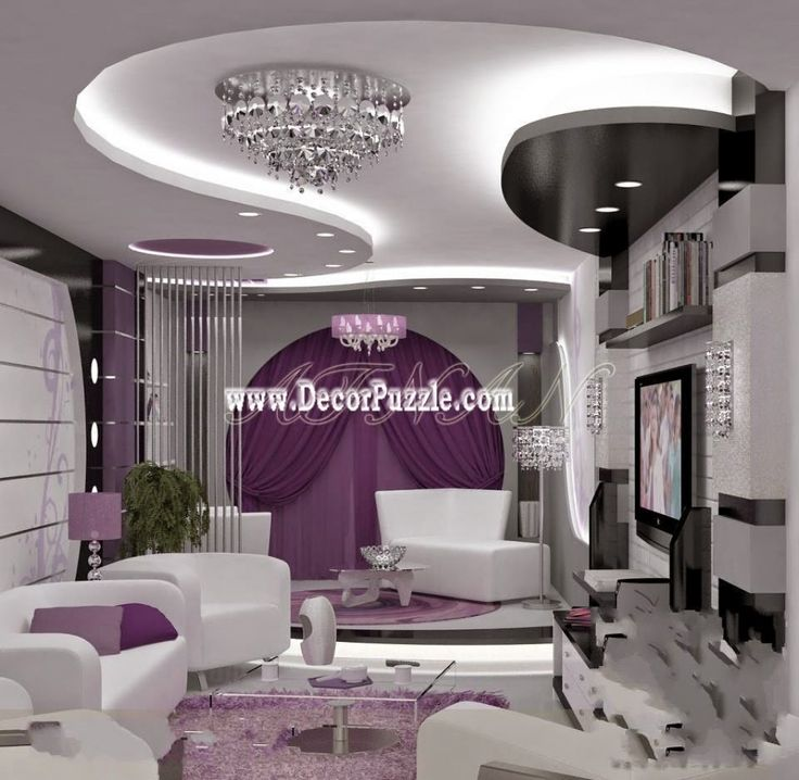 Home Ceiling Design Ideas: Living Room Design 12 Elegant Living Room False Ceiling