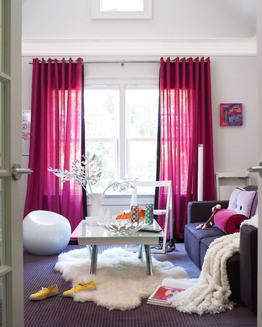Tips for Renters - change out curtains