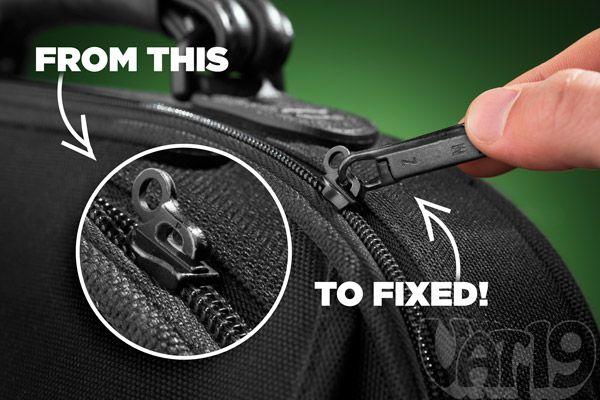 how to fix trampoline zipper