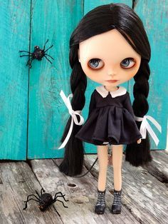 Blythe - Wandinha Addams