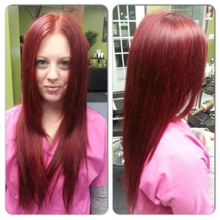 29 best before after with lox images on pinterest extensions red extensions by trisha lox extensions hair by fringe salon lennon mi pmusecretfo Images
