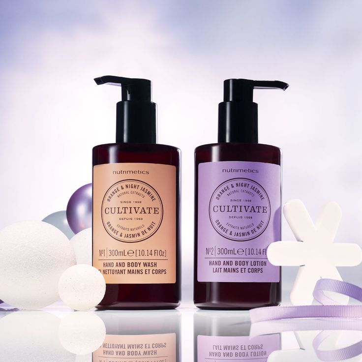 Cultivate Orange & Night Jasmine Hand & Body Duo 300ml each