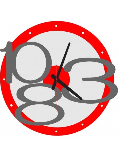 3D wall clock Exclusive, color: red, gray numbers Reference:  X00013-RAL3000-RAL7005 Condition:  New product  Availability:  In Stock  Time to change! Decorating watches will revive every interior, highlight the charm and style of your space. Discover your living with new clocks. Plexiglass wall clocks are a wonderful decoration of your interior.