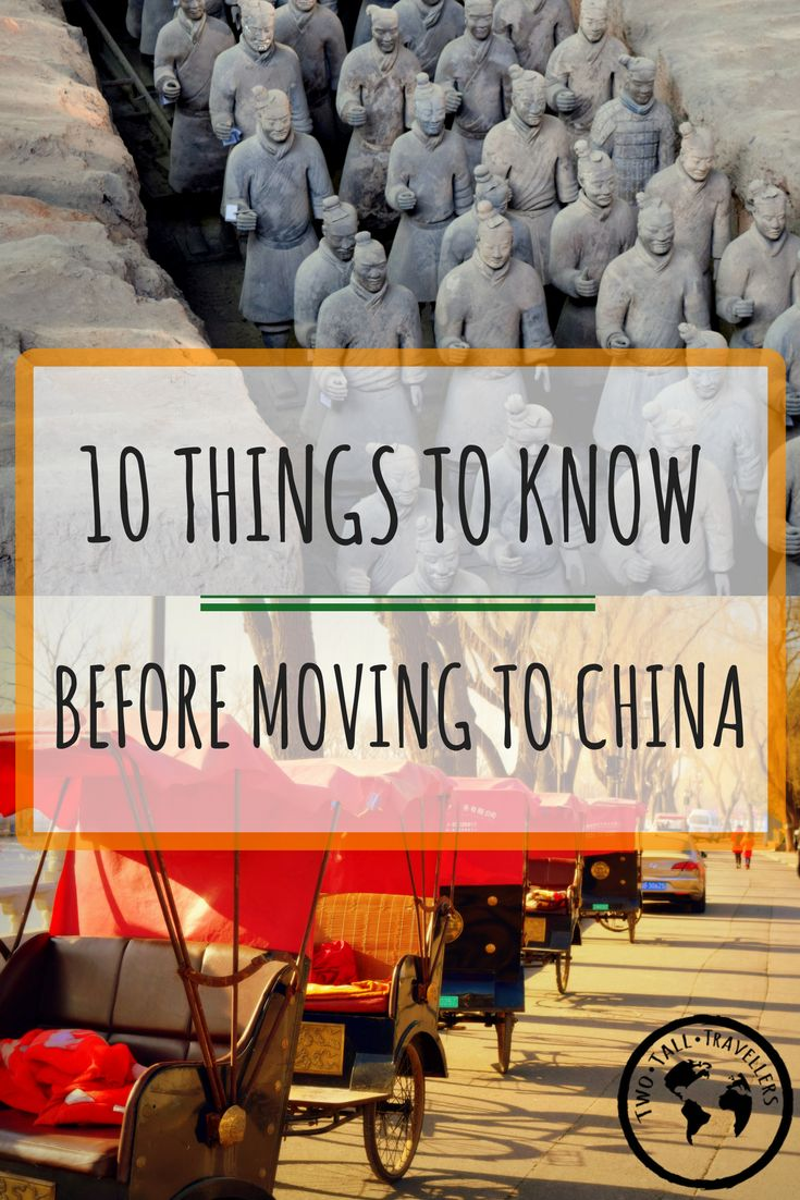 10 Things to Know Before Moving to China