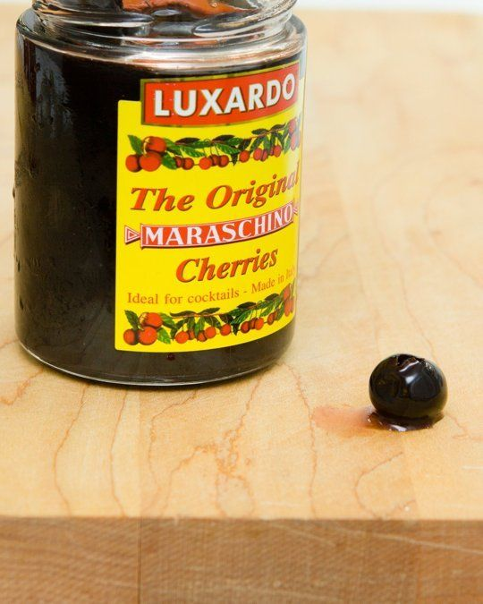 """""""I say """"re""""-discovered because several years back, I was turned on to Luxardo Maraschino Cherries — The Original, as their label claims. Ever since, these rich, ink-dark, Italian-made treasures have been my gold standard"""""""