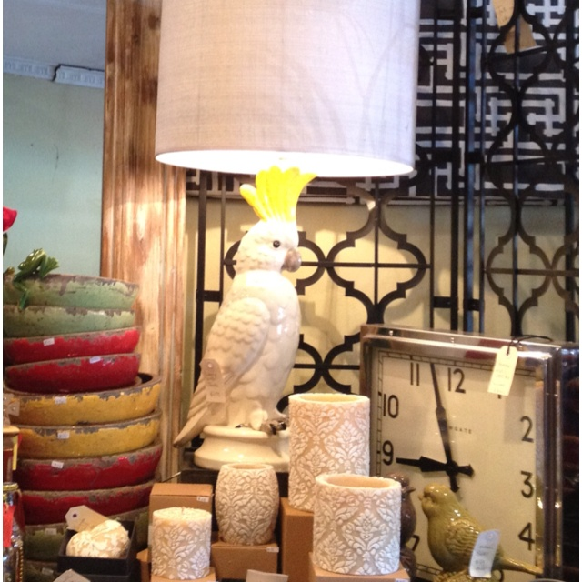 The best cockatoo lamps are here at bowerbird