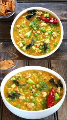 Bisi Bele Bath / Hot Lentil Rice is a healthy, nutritious, spicy and flavorful one pot meal prepared using rice, lentil, aromatic spices and vegetables of your choice. The recipe is vegan, gluten free, no onion no garlic.