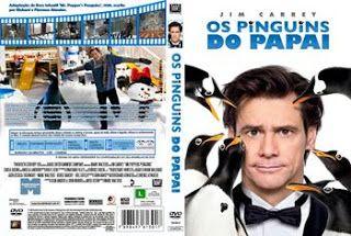Grátis Gtba: Os Pinguins Do Papai - Capa & Label Filme DVD