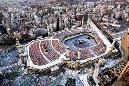 Gambar Kota Mekah Dari Atas
