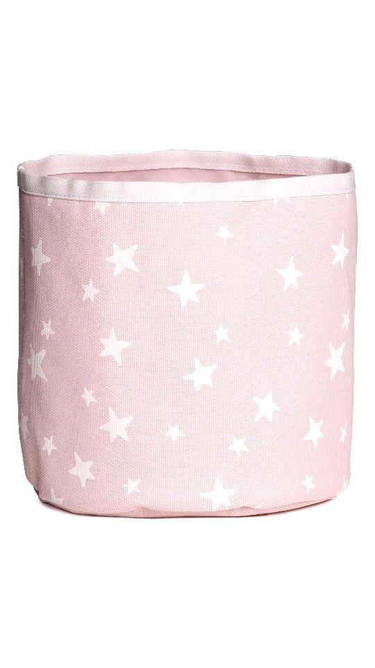 Schattig roze mandje H&M