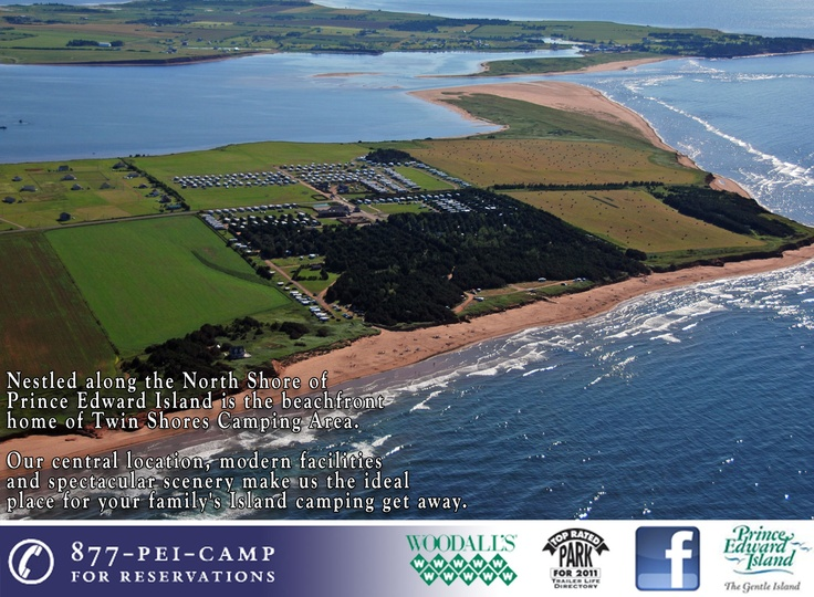Twin Shores Camping Area :: Darnley, Prince Edward Island, Canada