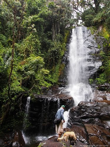 Cascada J. Vargas Sonson Antioquia Colombia