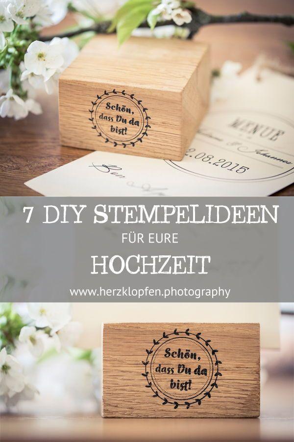 Sieben Zauberhafte Stempel Ideen Fur Eure Hochzeit Diy Hochzeit
