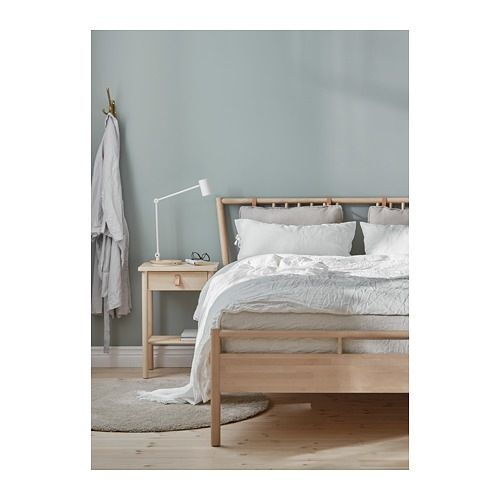 Bjorksnas Sangstomme Bjork 140x200 Cm Ikea Bed Bed Frame Ikea