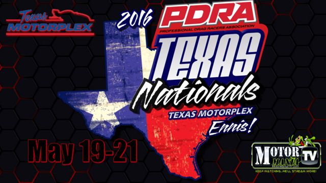 PDRA moves to the Texas Motorplex for the Texas Nationals this weekend.  This is the original 'super' track.  You need to see this place in person if you've never been here!