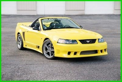 eBay: 2002 Ford Mustang Saleen S-281 2002 Saleen Mustang S-281 S/C Speedster Convertible #fordmustang #ford