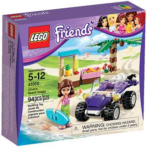 LEGO Friends Olivia's Beach Buggy Building Set