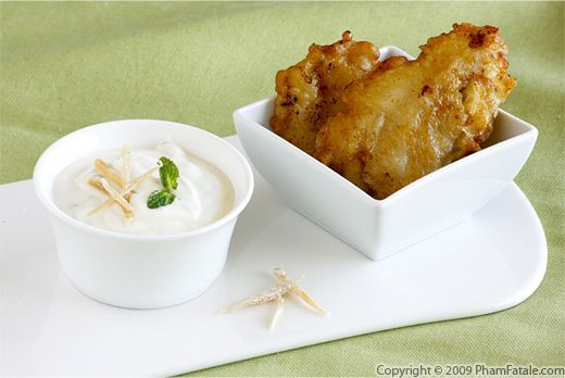 Vietnamese Deep-Fried Banana Fritters with Ginger-Coconut Mascarpone ...