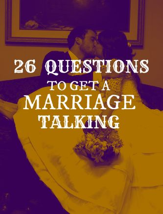 the BEST biblical questions for a marriage.