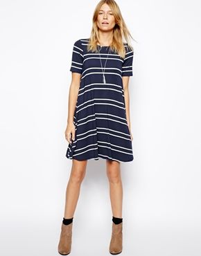 Asos Swing Striped Dress | $41.00