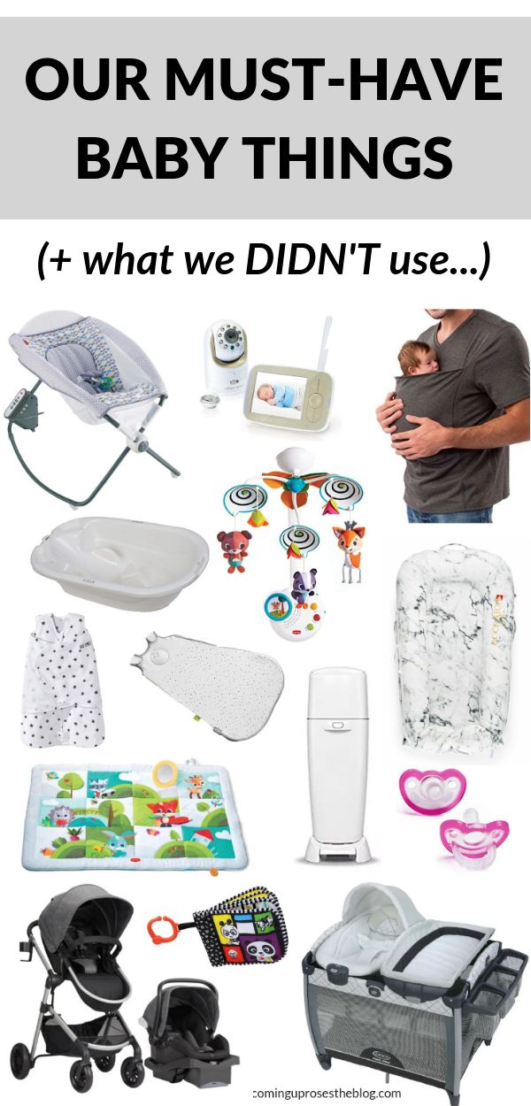 Our Must-Have Baby Items – the Best Baby Registry Items (+ what we DIDN'T use…)