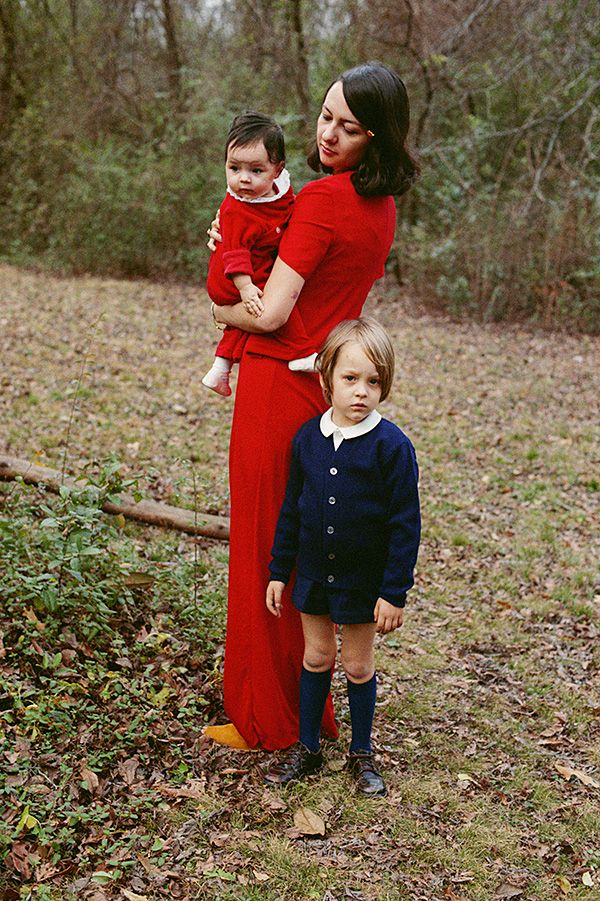 Untitled, c1971 (Eggleston's wife Rosa and their children)