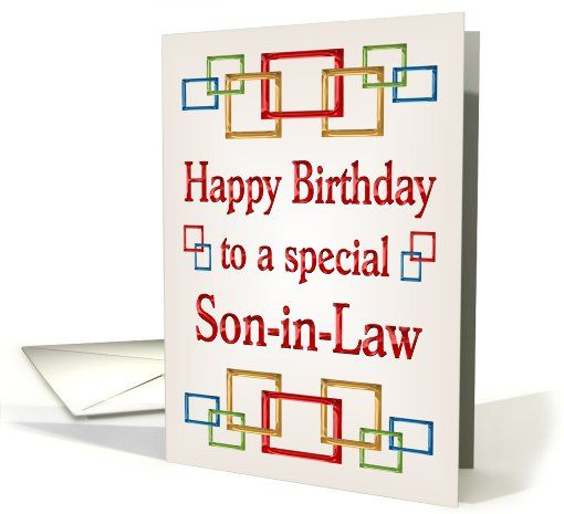76 best BIRTHDAY SONINLAW images – Happy Birthday Son in Law Cards