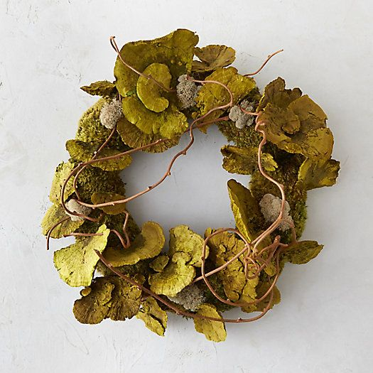 With a twists of grapevine, this unusual wreath is equal parts whimsical and woodsy.