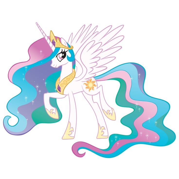 My Little Pony's Princess Celestia #MLPEG