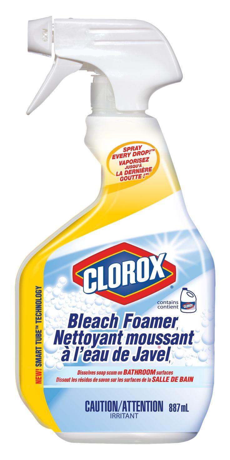 The Clorox Company Of Canada Clorox Bleach Foamer 2013 Grand Prix New Product Award