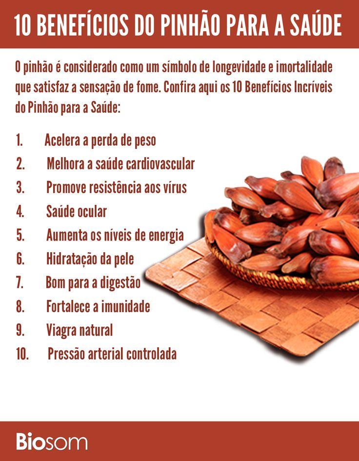 Clique na imagem para ver os detalhes dos 10 Benefícios Incríveis do Pinhão para a Saúde #alimento #alimentacao #alimentação #alimentacaosaudavel #alimentaçãosaudável #saúde #bemestar #pinhão #pinhão