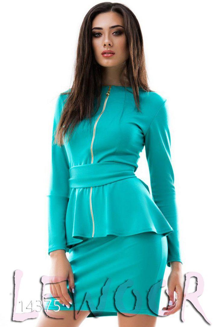 Красивая кофта баска с юбкой (костюм) - купить оптом и в розницу, интернет-магазин женской одежды lewoor.com