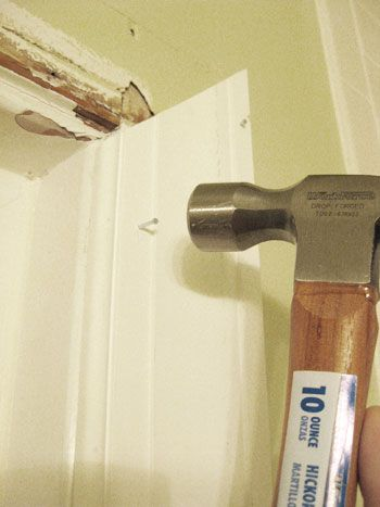 Bathroom renovation how to install baseboards trim - How to install a bathroom window ...