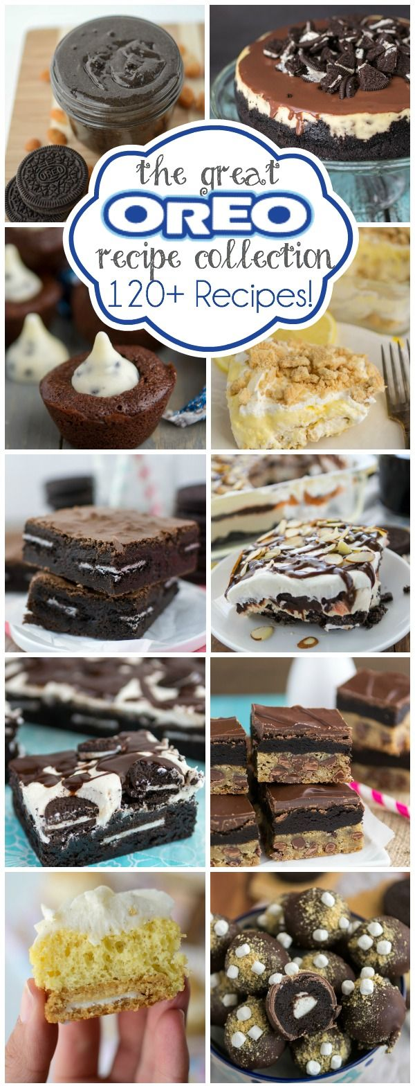 Over 120 Oreo Recipes using Oreos and Golden Oreos!