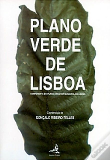 Book about the green planning in the city. Lisbon, 1993 [PDM]