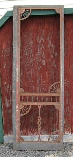 rustic screen doors - Google Search                                                                                                                                                                                 More